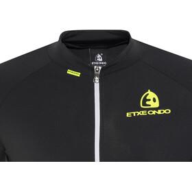 Etxeondo Maillot M/C Entzun S/S Jersey Men Black/Fluor